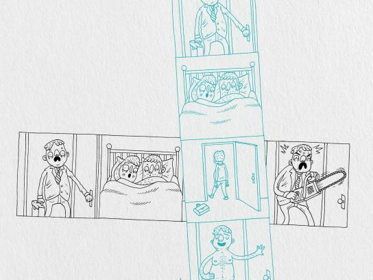 NatGoYoga Print Ad - Threesome