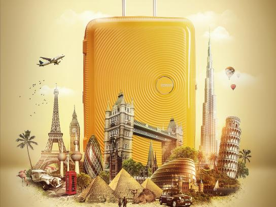 American Tourister Print Ad - Joy in Every Destination, 2