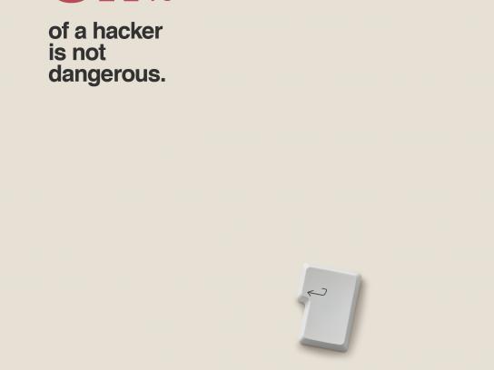 Protex Print Ad - Hacker