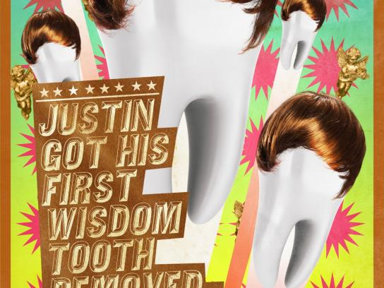 LG Outdoor Ad -  Justin