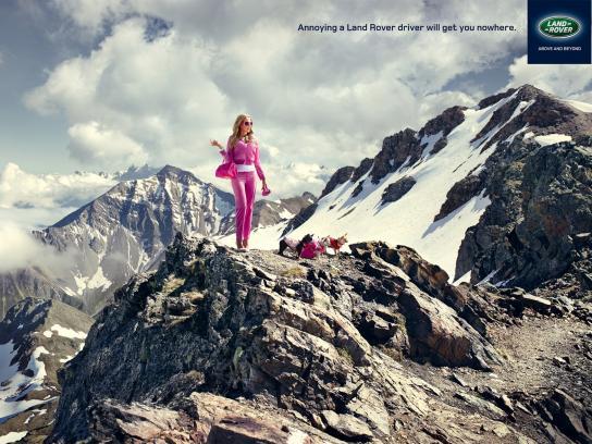 Land Rover Print Ad -  Barbie