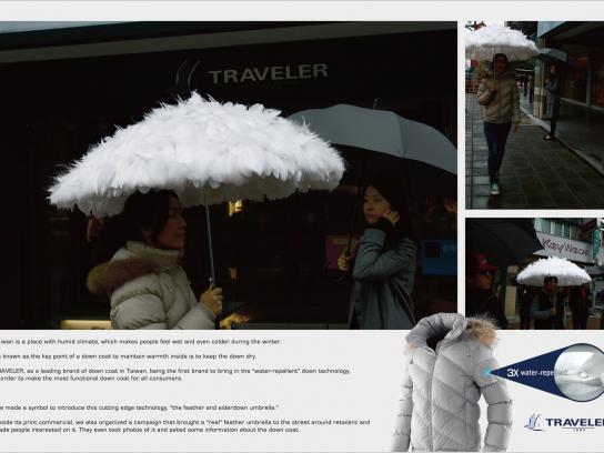 Traveler Ambient Ad -  Umbrella