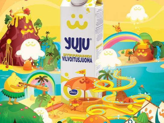 Yuju Print Ad -  Easy to drink hard to explain, 2