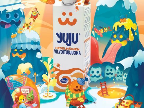 Yuju Print Ad -  Easy to drink hard to explain, 3