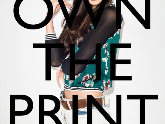 Zalora Print Ad -  Own the print