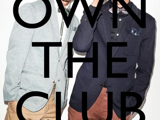 Zalora Print Ad -  Own the club
