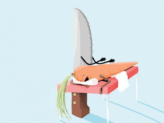 Bosca Print Ad -  Carrot