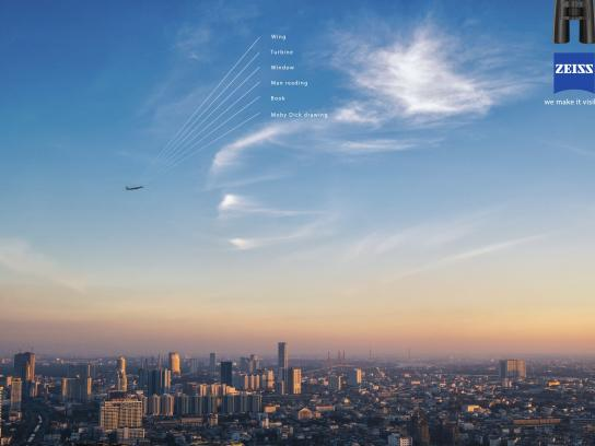 Zeiss Print Ad -  Airplane