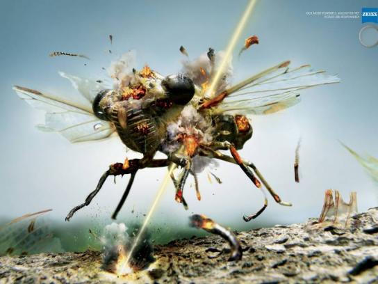 Zeiss Print Ad -  Fly