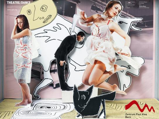 Zentrum Paul Klee Print Ad -  Theatre/Dance