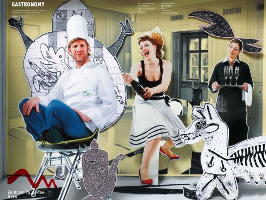 Zentrum Paul Klee Print Ad -  Gastronomy