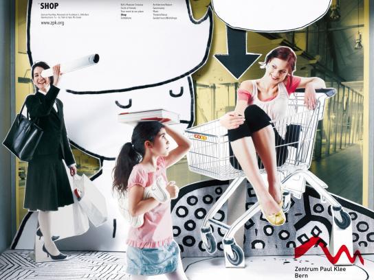 Zentrum Paul Klee Print Ad -  Shop
