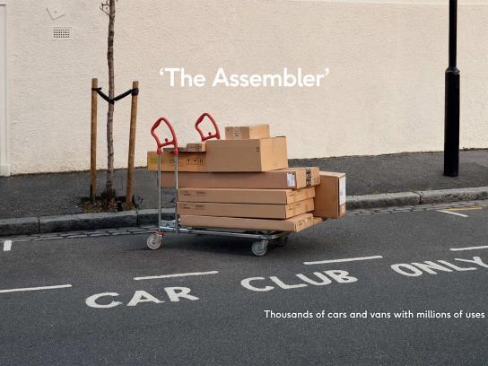 Zipcar Print Ad - Assembler