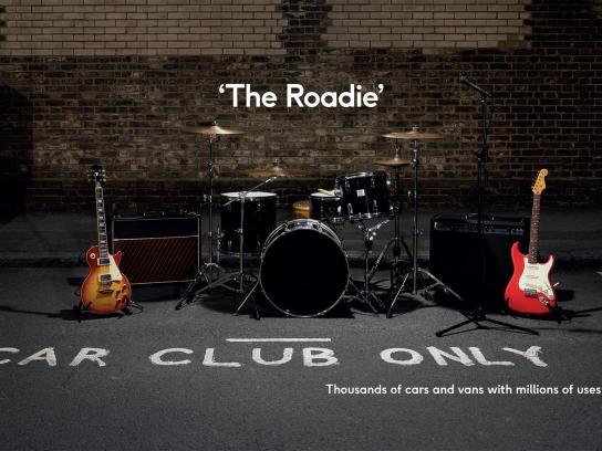 Zipcar Print Ad - The Roadie