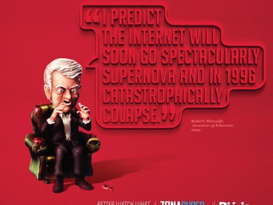 Zona Cyber Print Ad -  Metcalfe