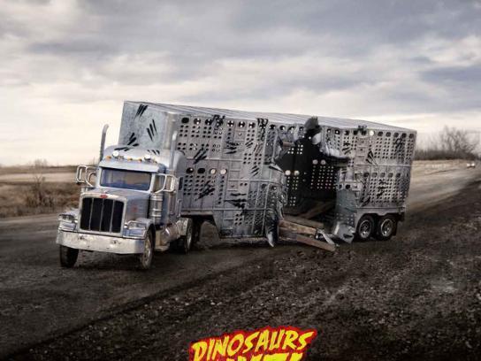 Calgary Zoo Print Ad -  Truck