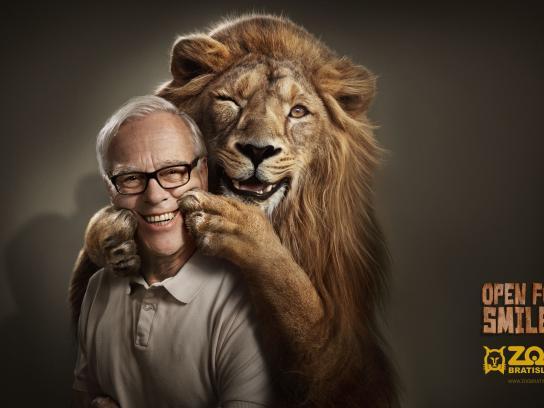 Zoo Bratislava Print Ad -  Lion