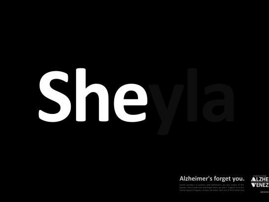 Venezuela's Alzheimer Foundation Print Ad - SHEyla