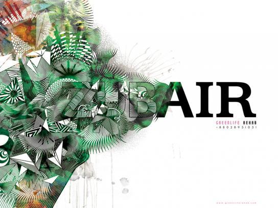 Greenlife Print Ad -  Zubair
