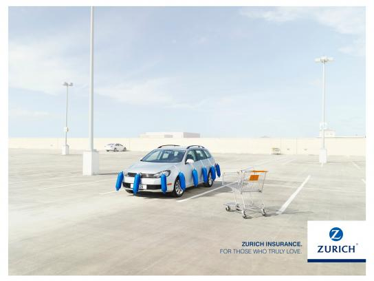 Zurich Print Ad -  Car protection