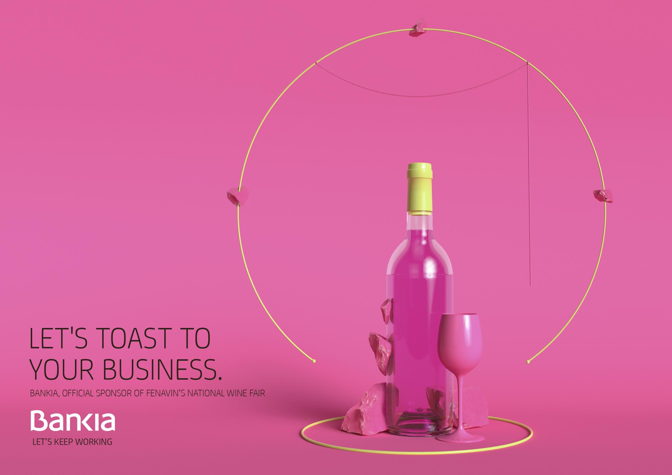 Bankia Print Ad - Wine, 5