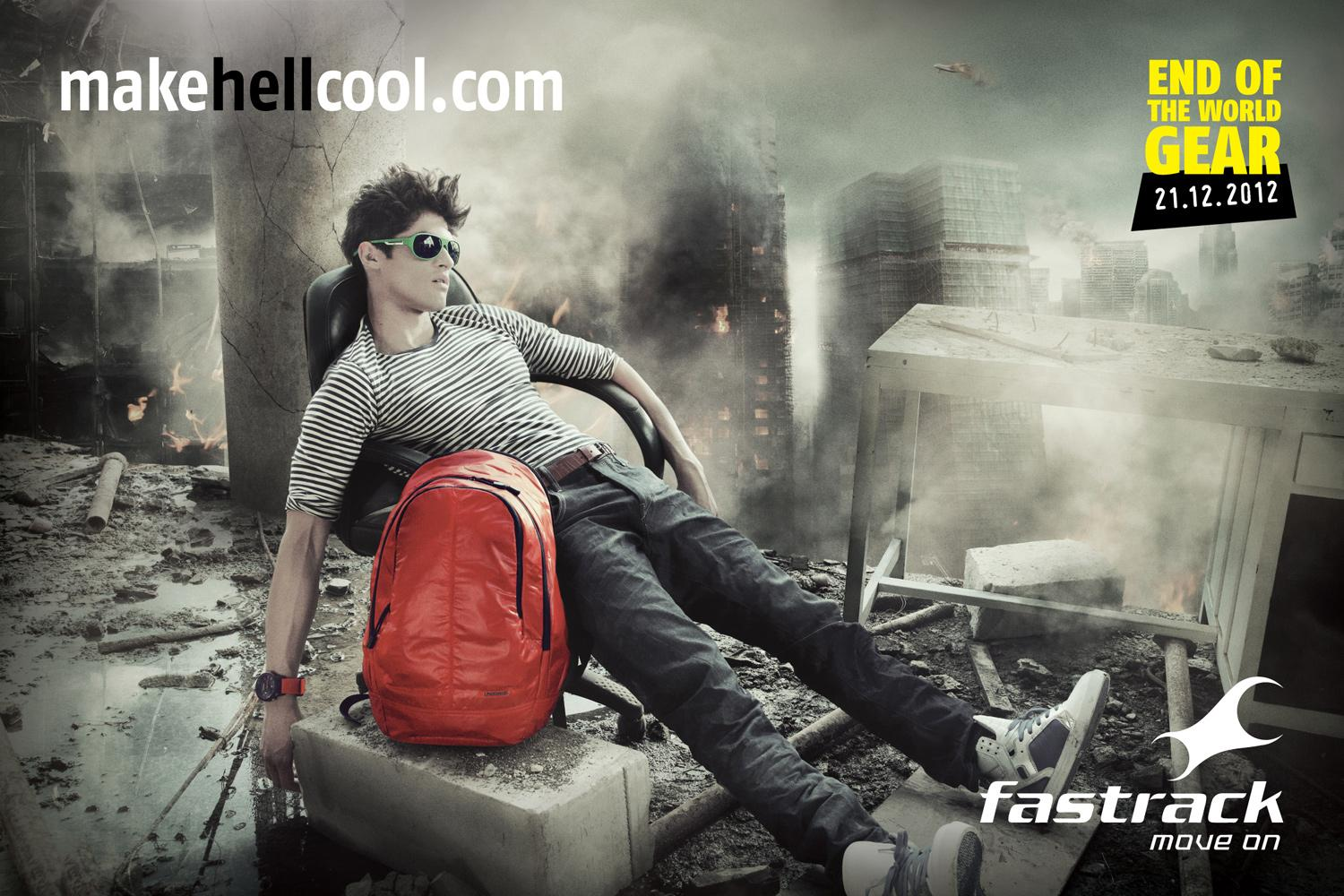 Fastrack Print Ad -  Make Hell Cool, 2