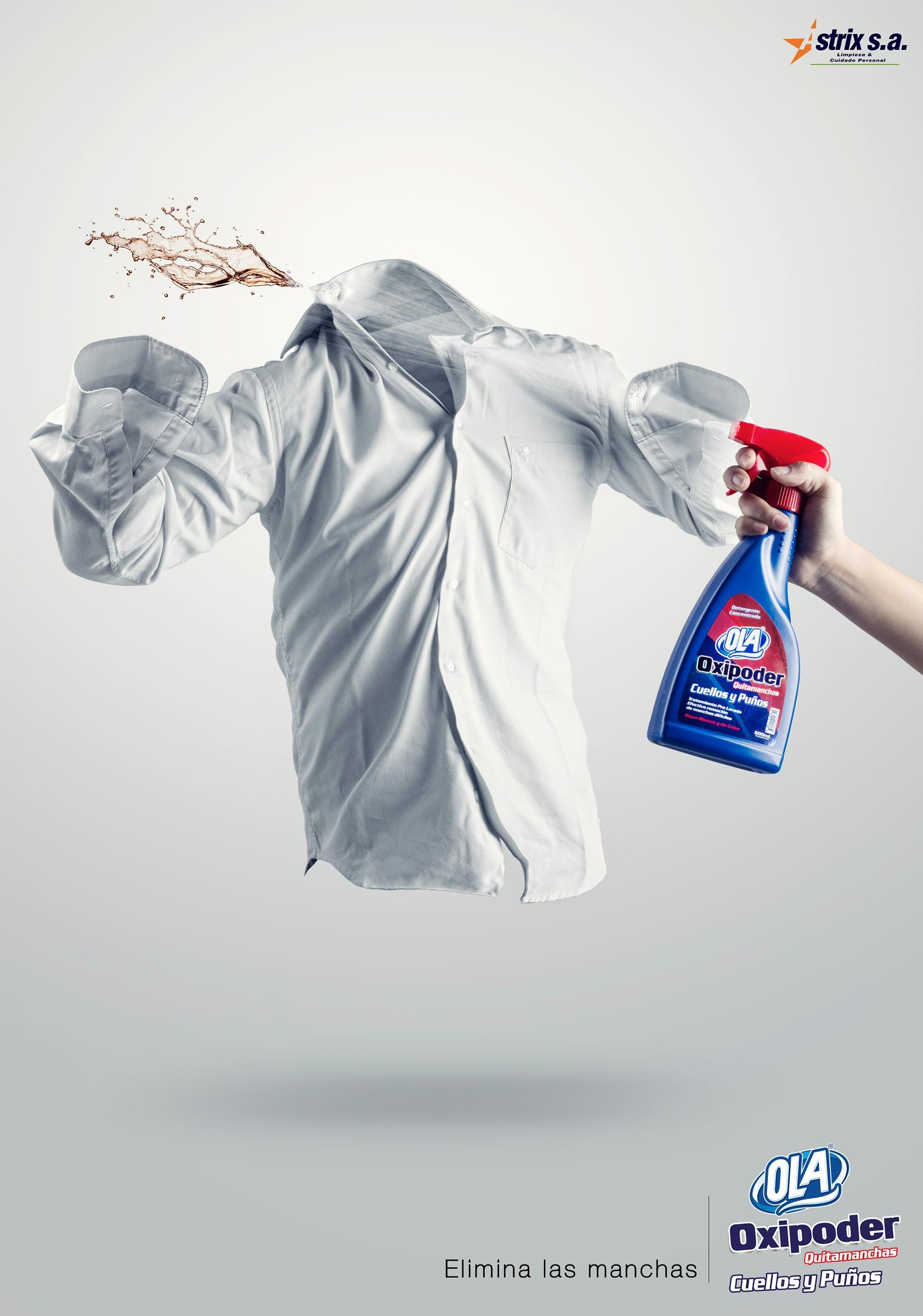Ola Print Advert By WAWA: Eliminating stains, 1 | Ads of the World™