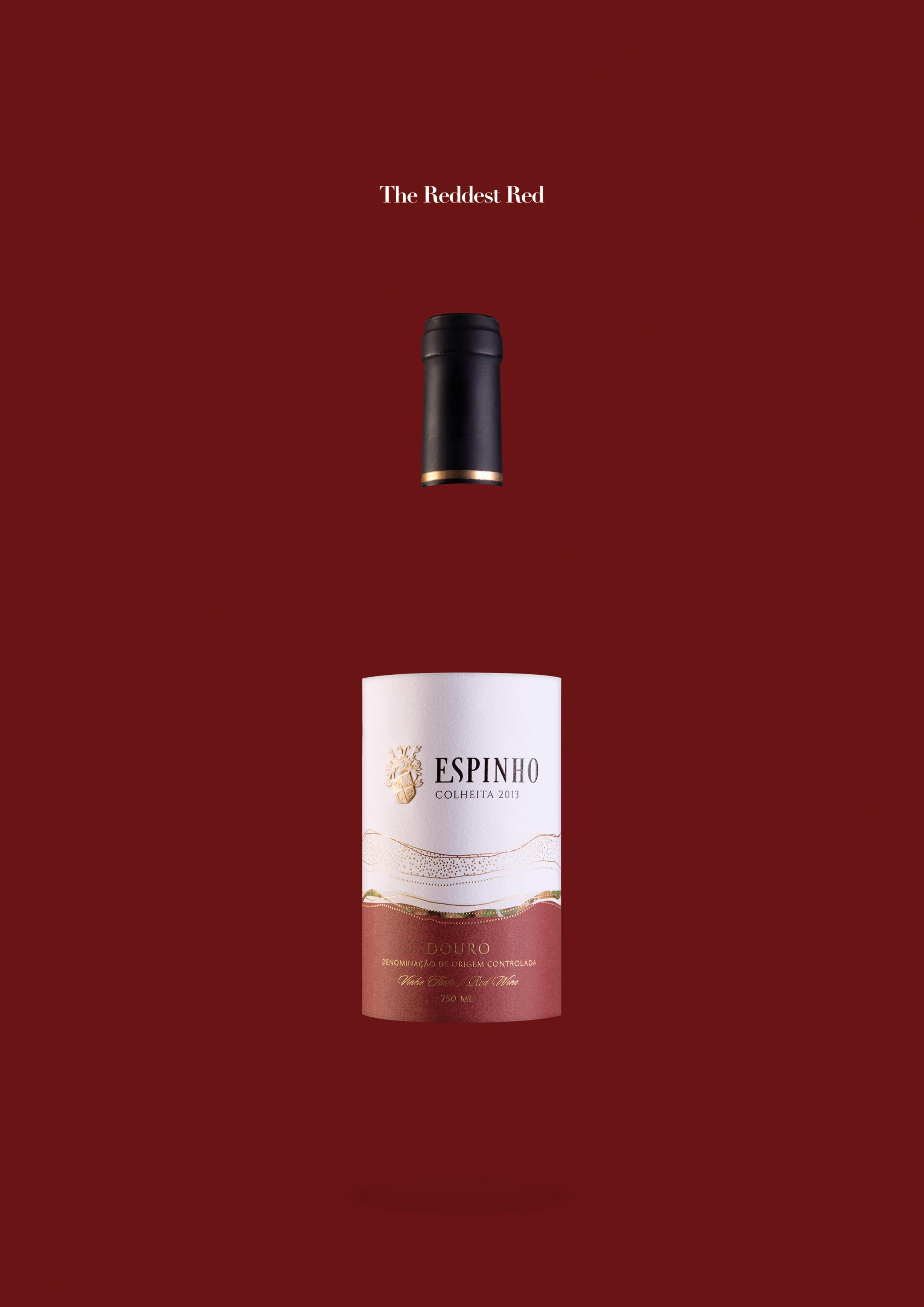 QUINTA DO ESPINHO Print Ad - The Reddest