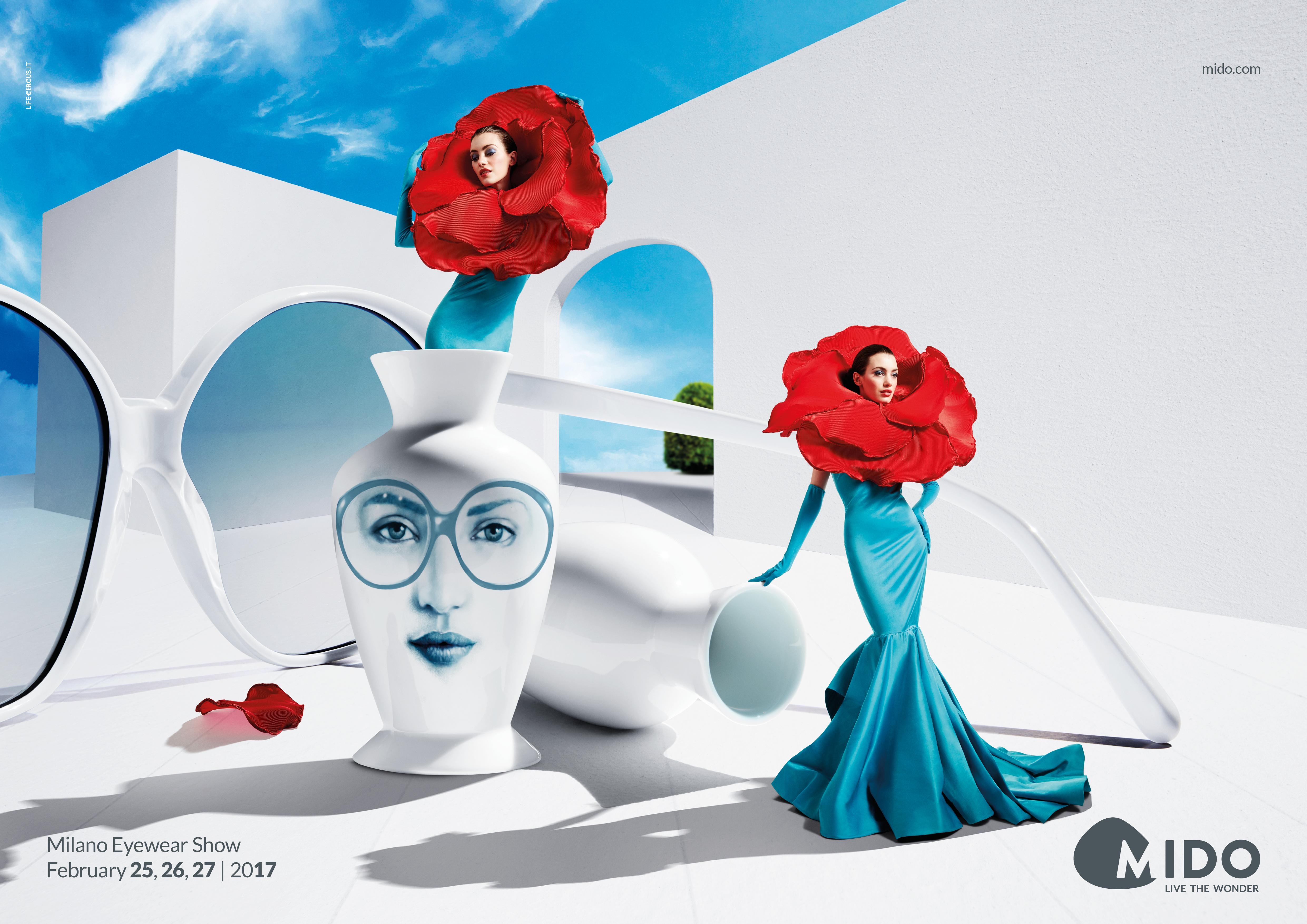 Mido Outdoor Ad - Flower