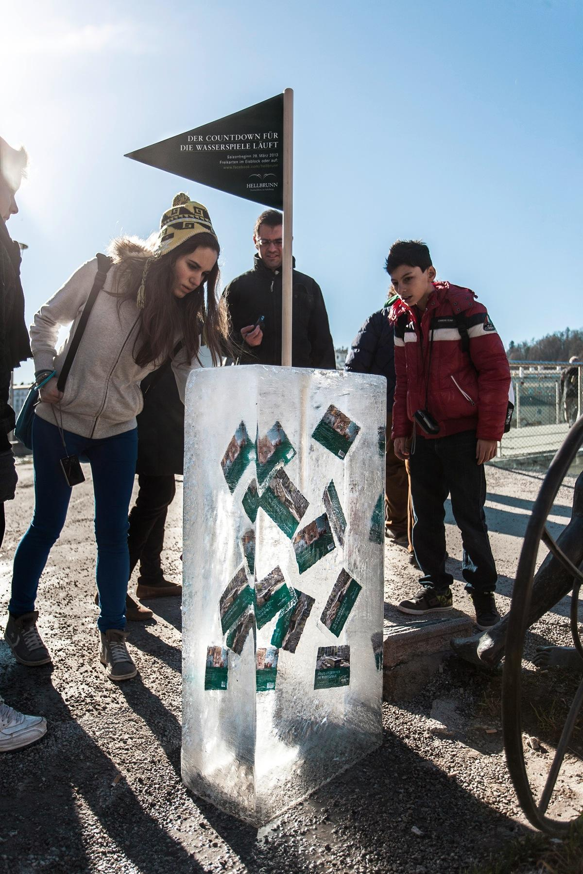 Hellbrunn Palace Ambient Ad -  Season opening, 1