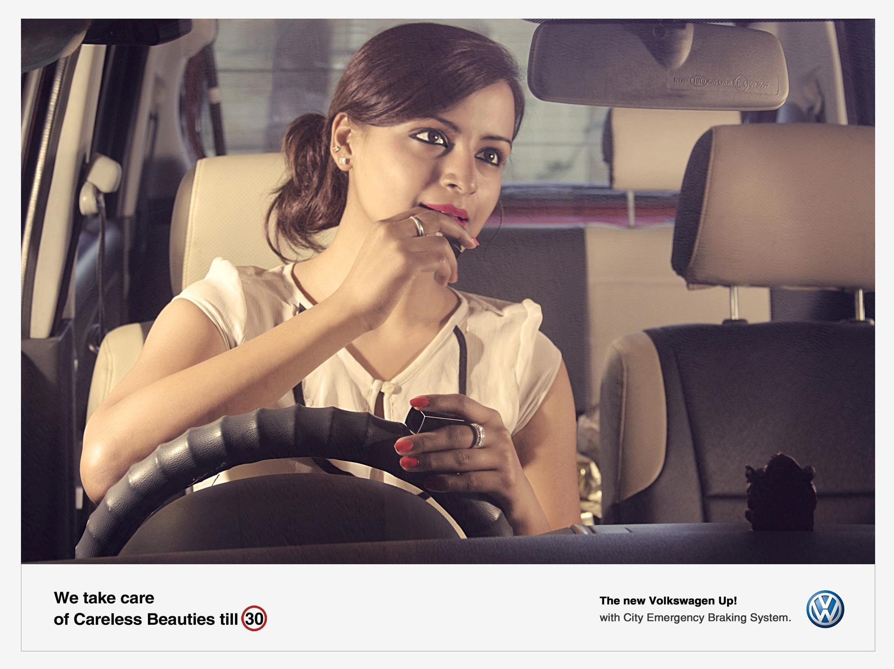 Volkswagen Print Ad -  Careless, 1
