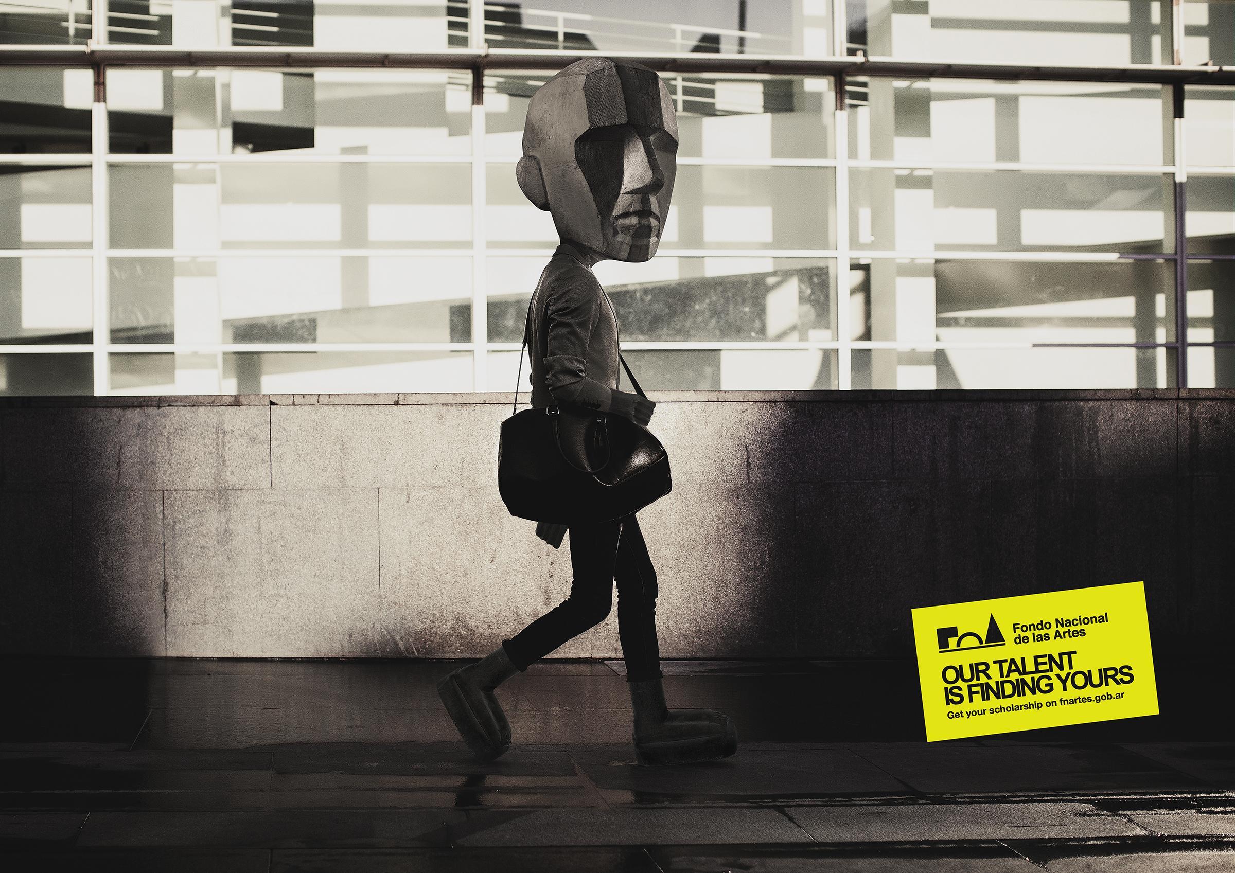 Fondo Nacional De Las Artes Print Ad - Walker