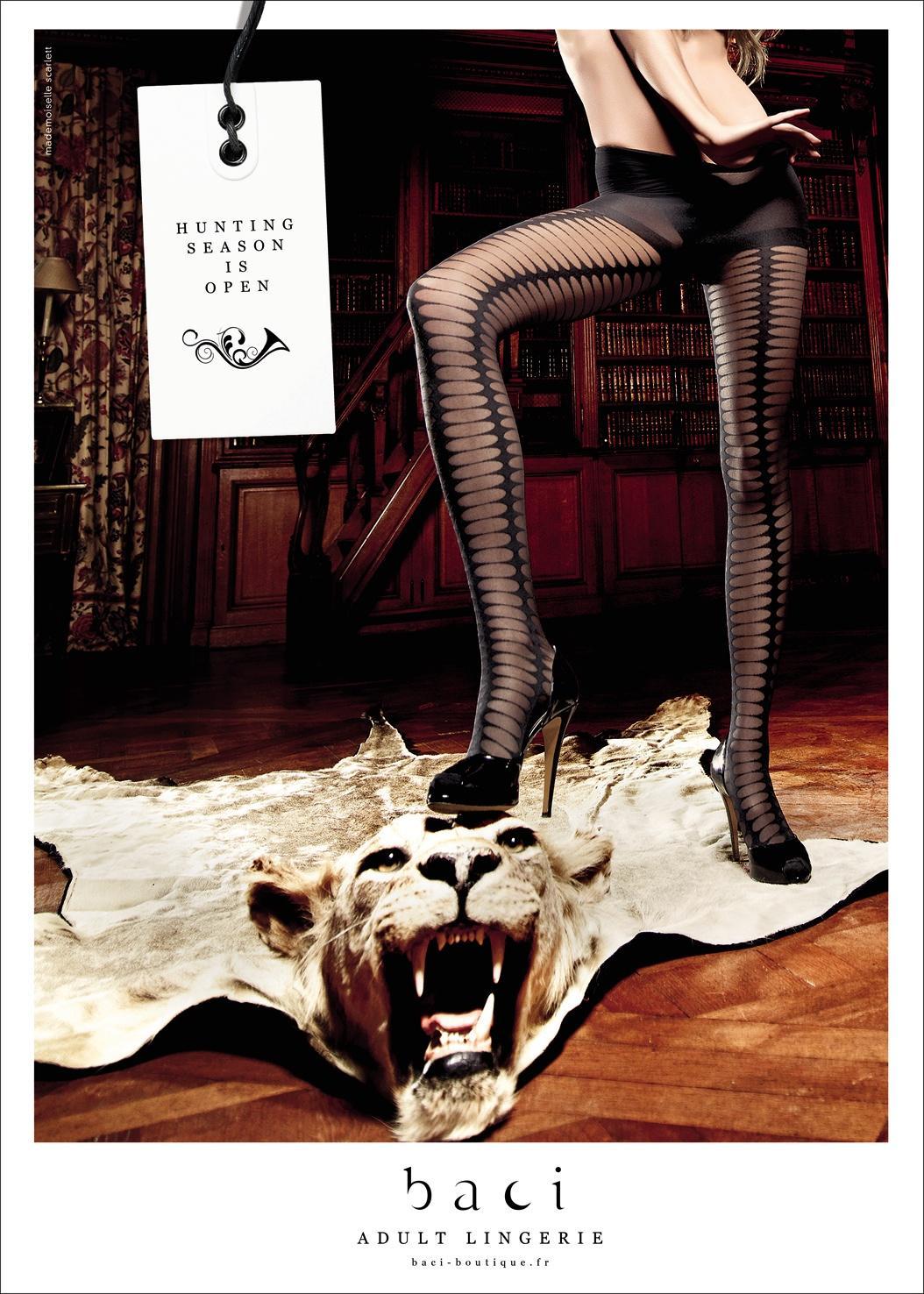 BACI Print Ad -  The hunt, 3
