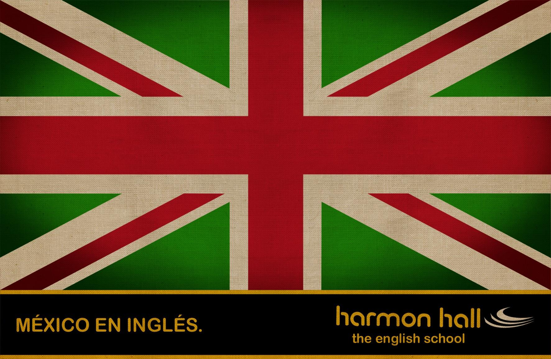 Harmon Hall Print Ad -  Mexico in English, 1