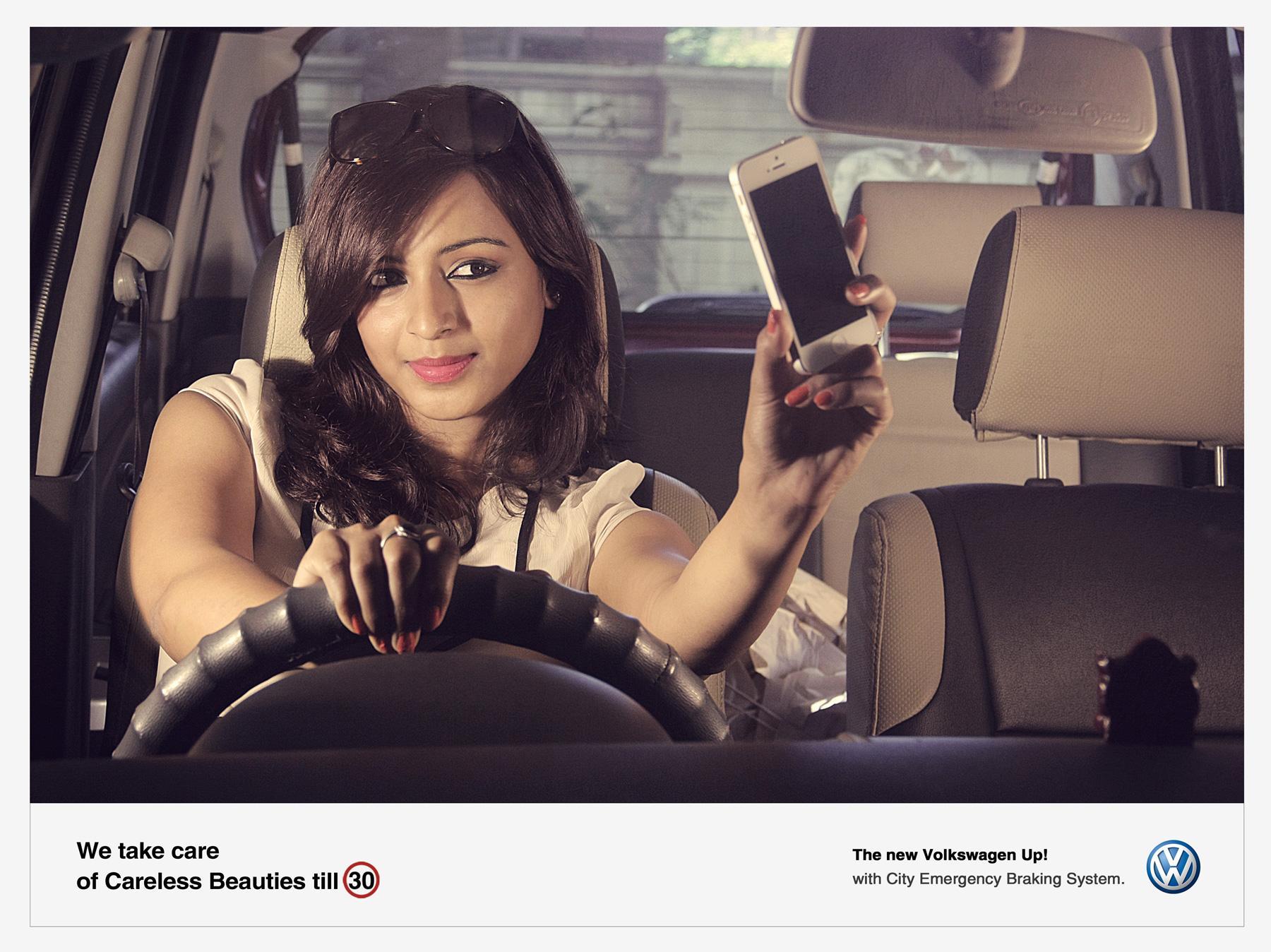 Volkswagen Print Ad -  Careless, 2