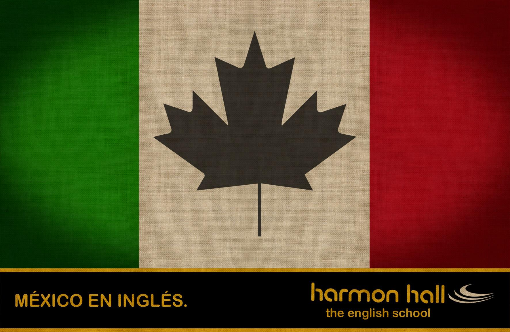 Harmon Hall Print Ad -  Mexico in English, 2