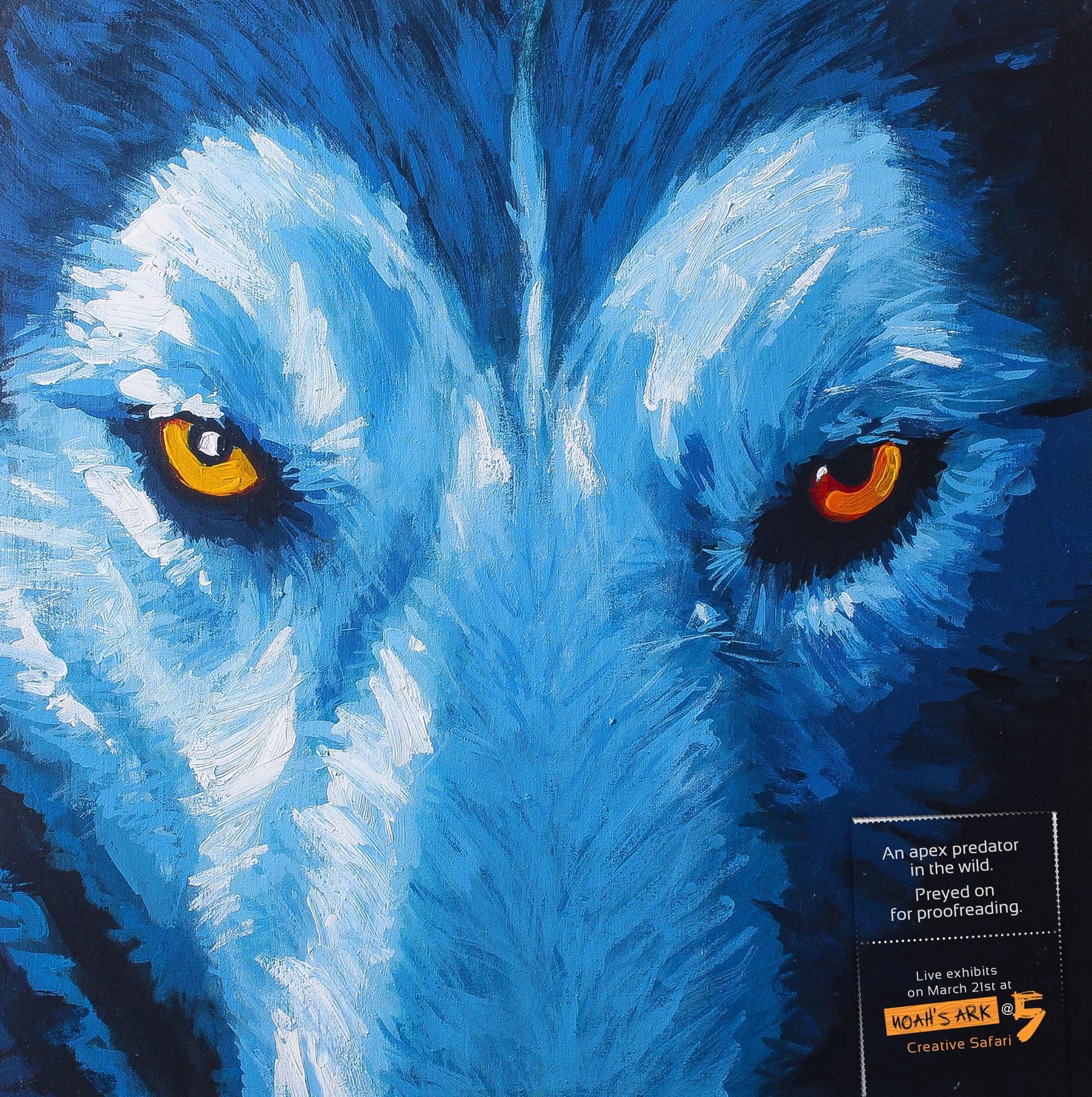 Noah's Ark Creative Print Ad -  Wolf