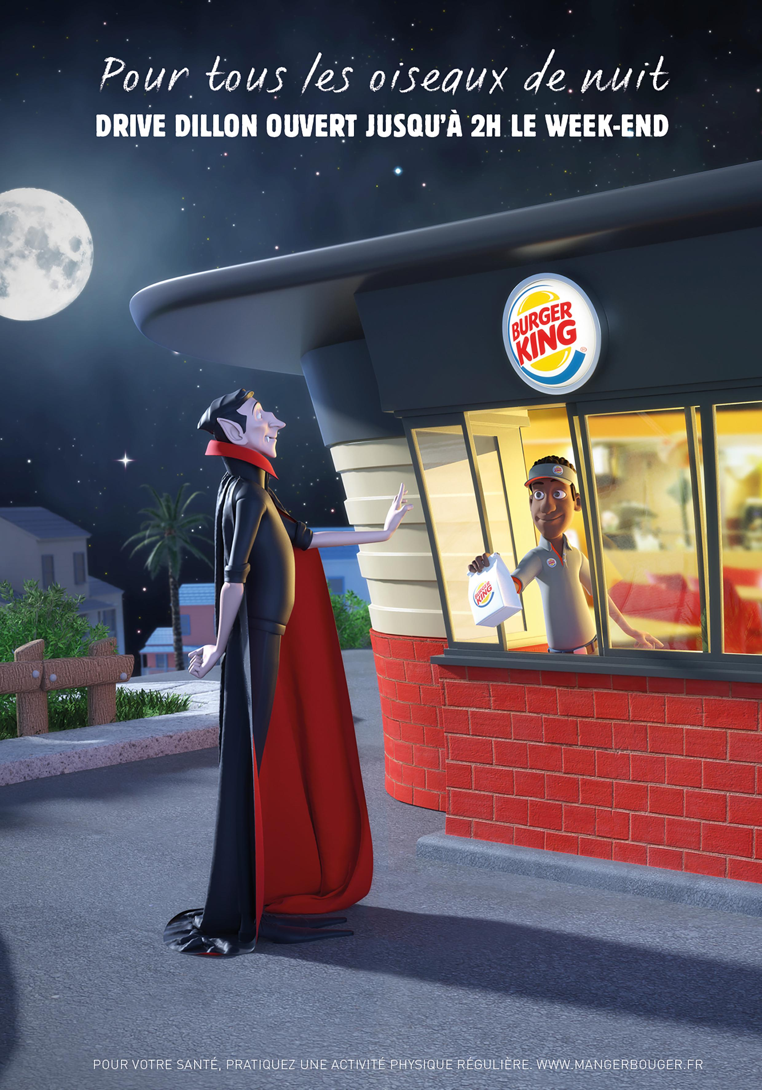 Burger King Print Ad - Night Owls, 3