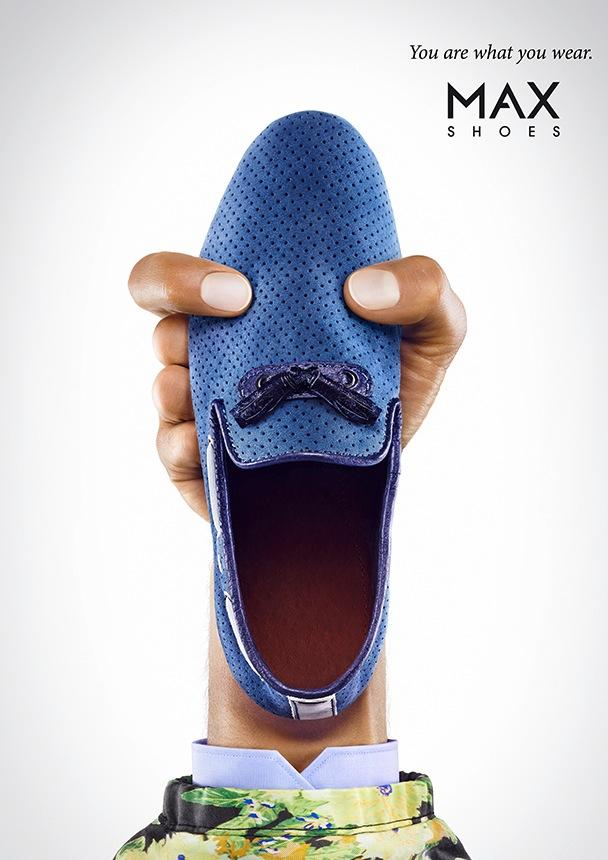 MAX Shoes Print Ad -  Moccasin