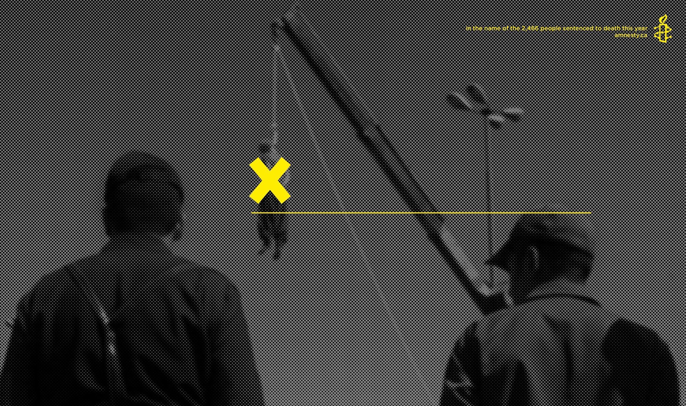 Amnesty International Print Ad -  Death penalty