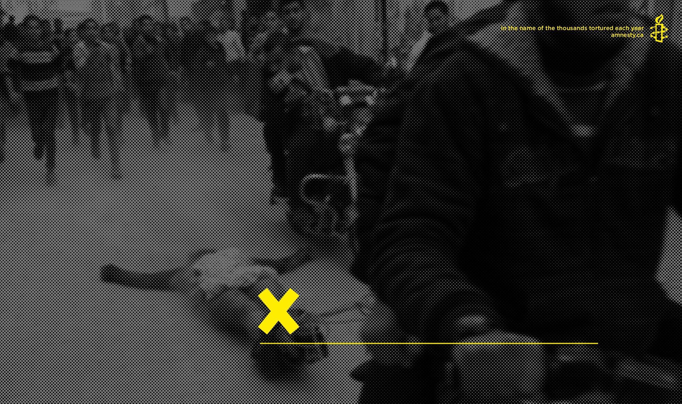 Amnesty International Print Ad -  Torture