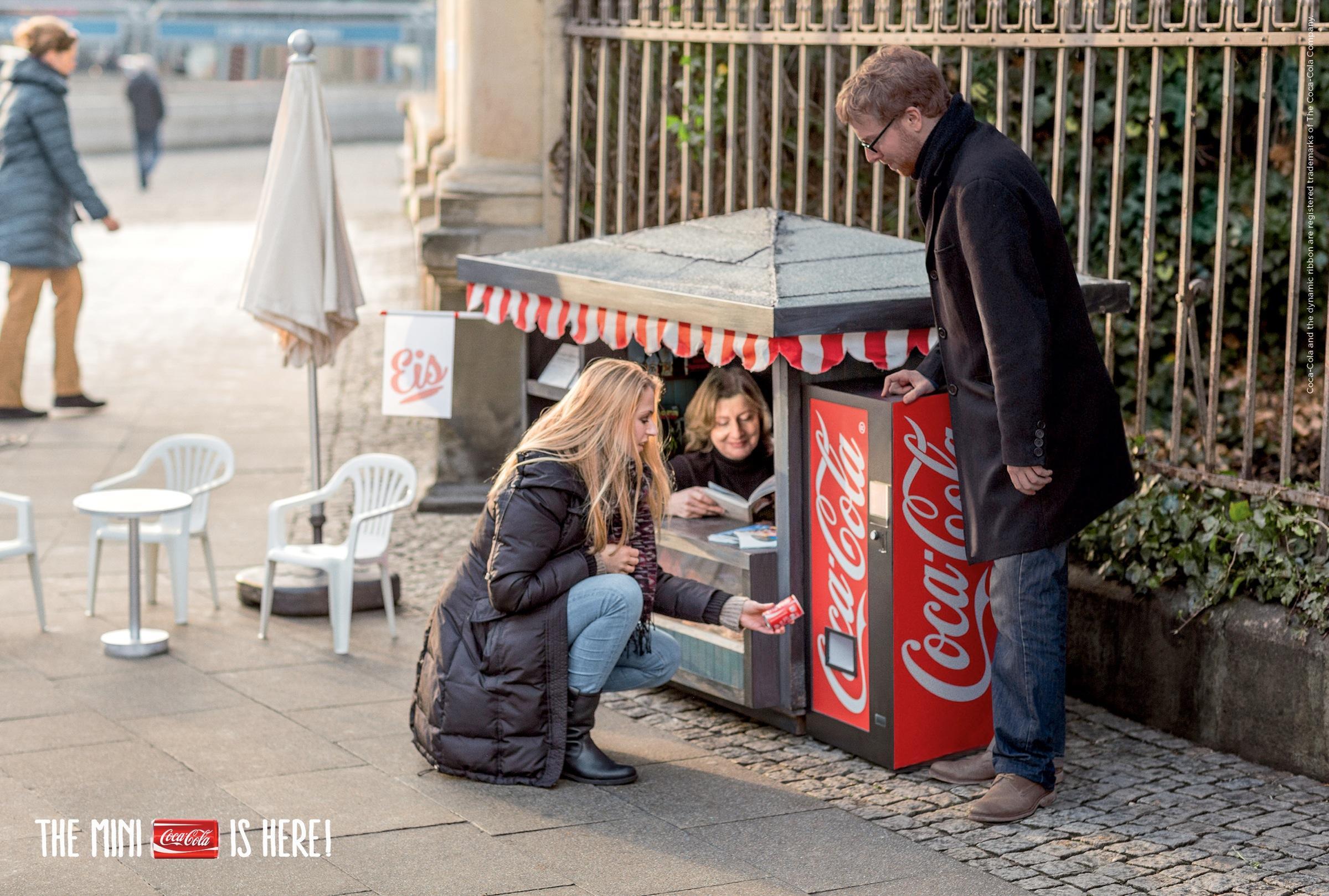 Coca-Cola Print Ad -  Kiosk, 1