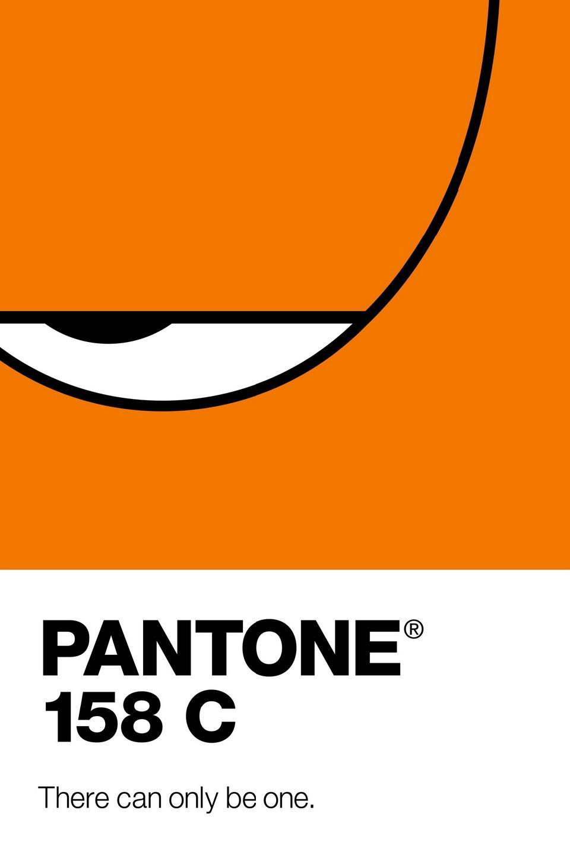 Pantone Outdoor Ad -  158C