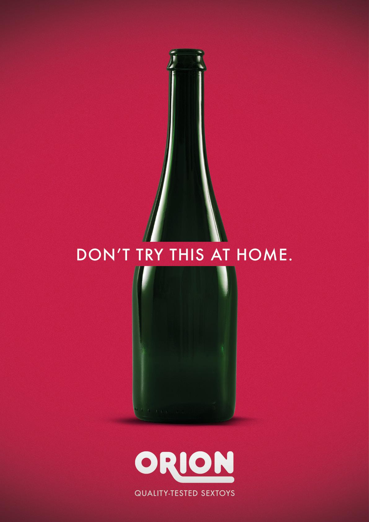 Orion Print Ad - Don't try this at home, 3