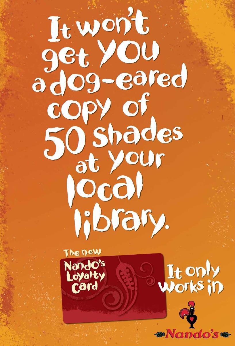 Nando's Print Ad -  Shades