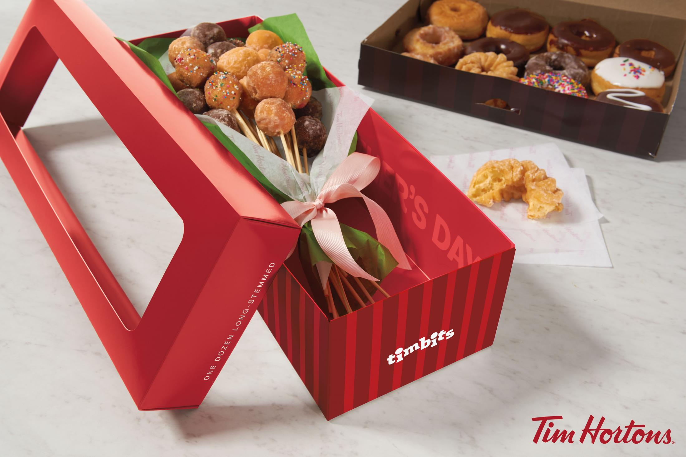 Tim Hortons Print Ad - Timbits Donut Bouquet