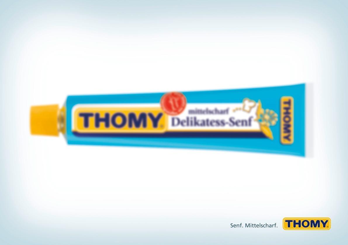 Thomy Outdoor Ad -  Mittelscharf