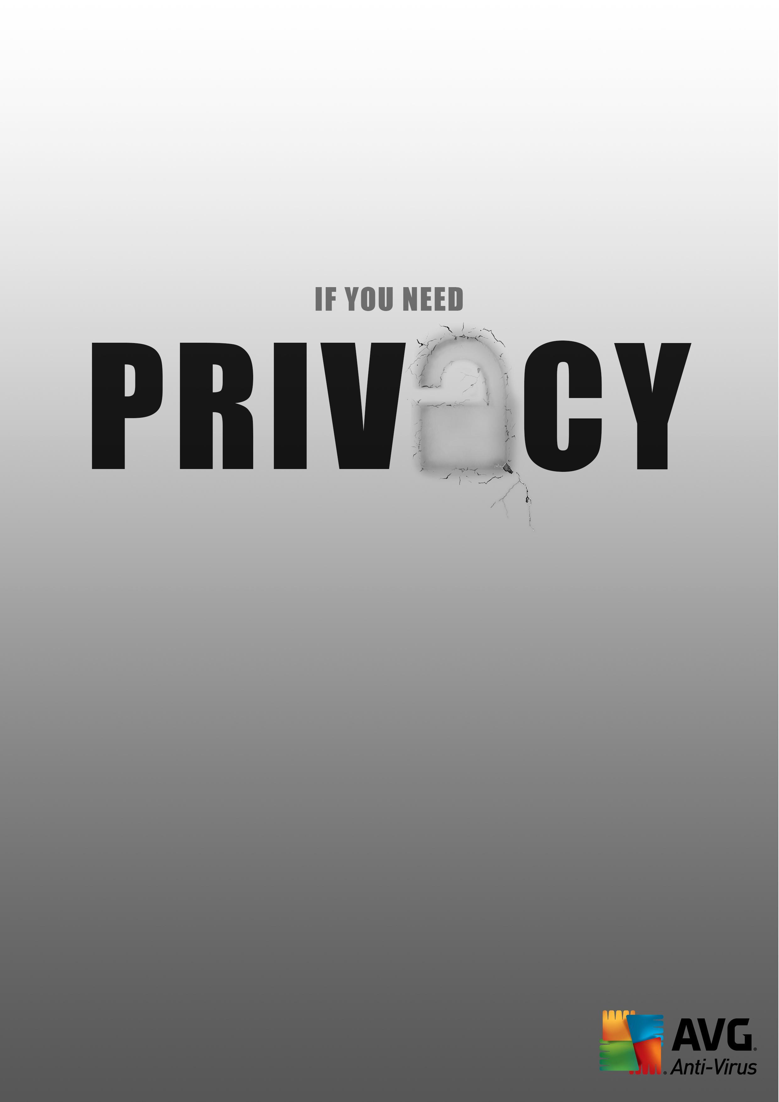 AVG Print Ad - Privacy