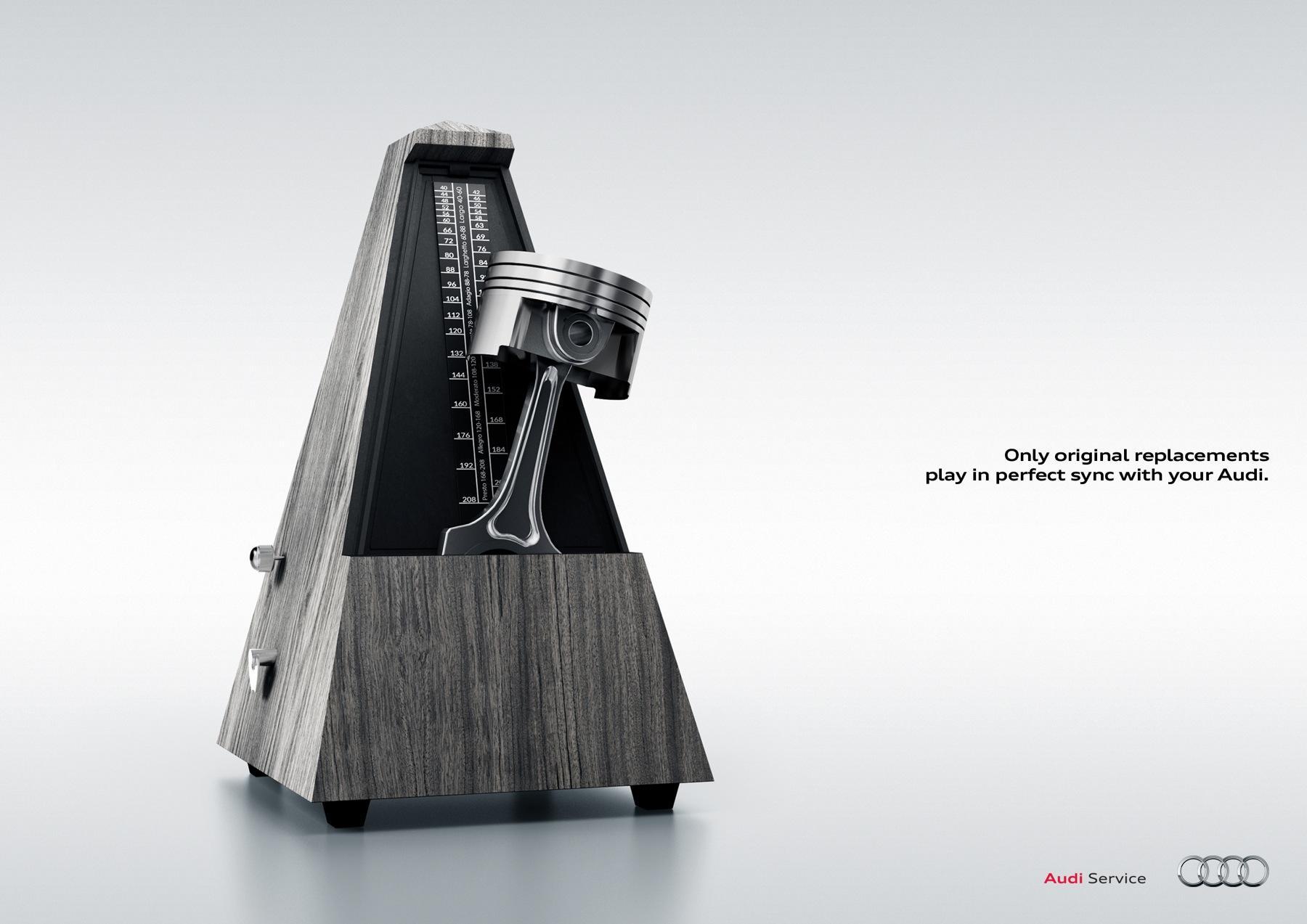 Audi Print Ad -  Metronome