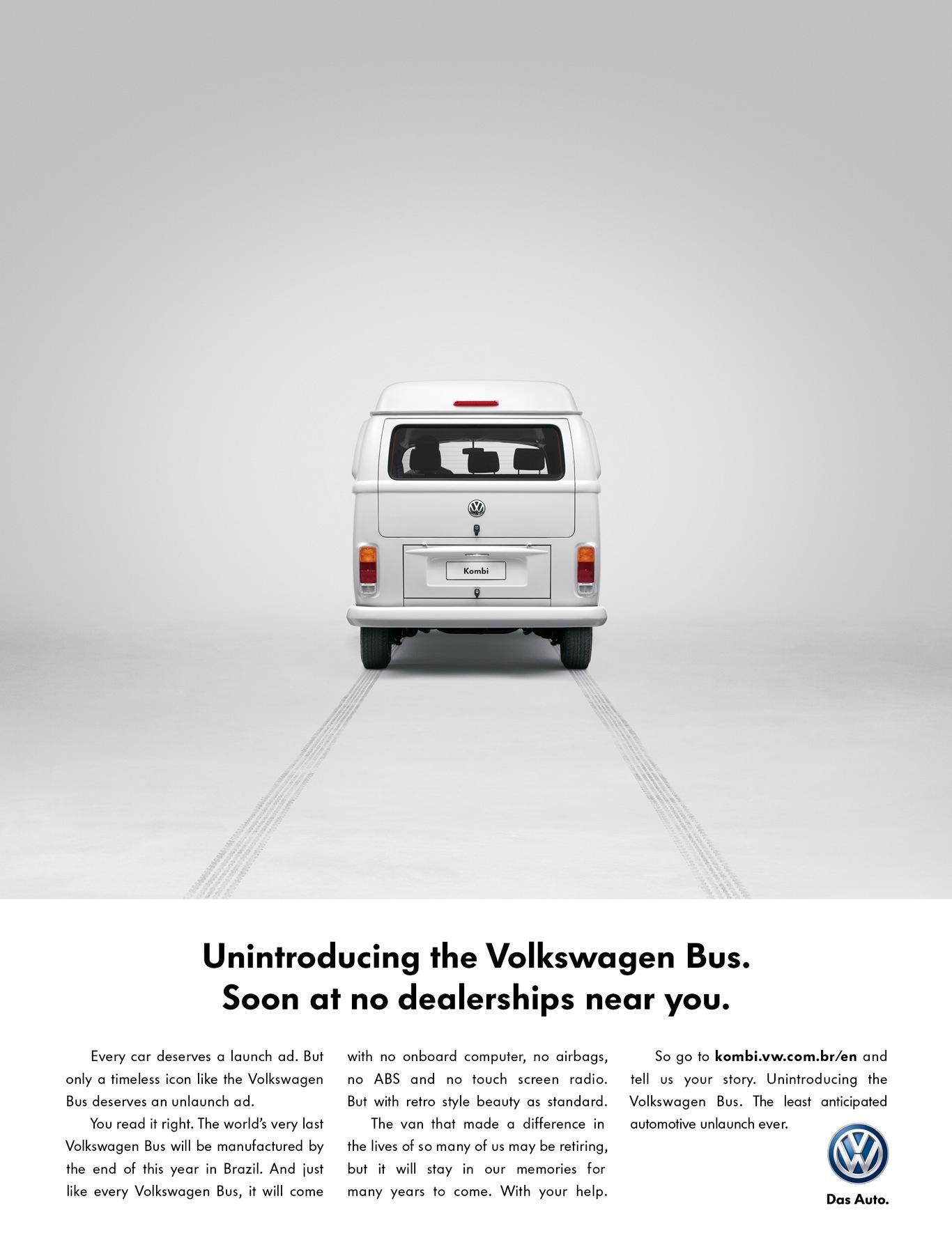 Volkswagen Print Ad -  No more